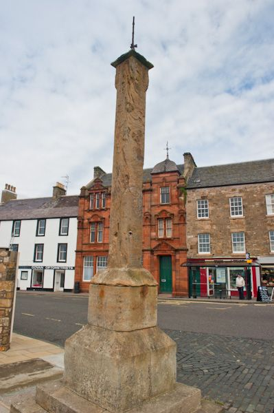Anstruther photo, Mercat Cross