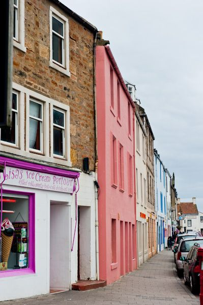 Anstruther photo, East Shore shops