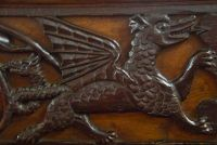 Winged Dragon Carving
