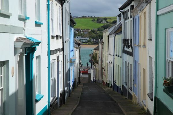 Appledore photo, Georgian houses on Bude Street (c) Rob Noble