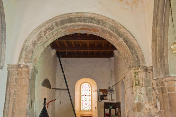 Appleton-le-Street, All Saints Church photo, Norman chancel arch