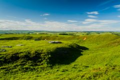Arbor Low, The henge bank and ditch