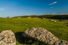 Arbor Low, Looking across the stone circle