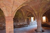 Abbot's House vaulted undercroft