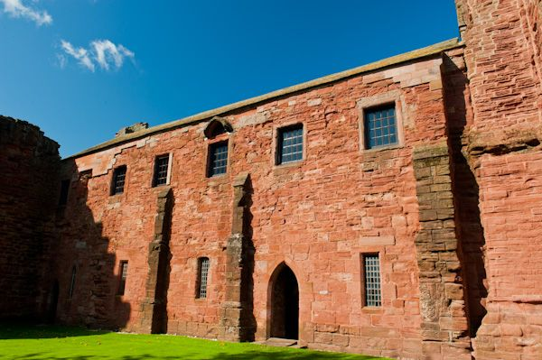 Arbroath Abbey photo, The Abbey guesthouse
