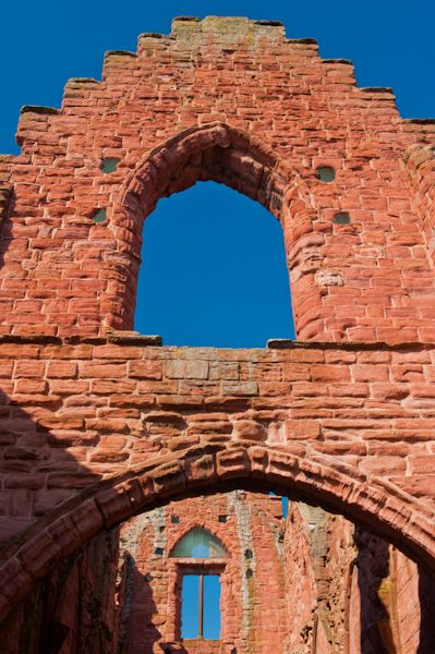 Arbroath Abbey photo, Regality Tower