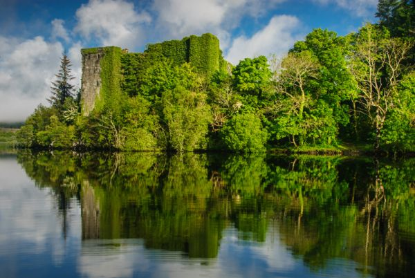 Loch Awe photo, Ardchonnell Castle