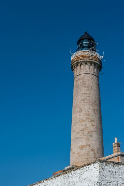 Ardnamurchan Point Lighthouse photo, The tower from below