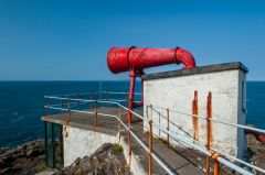 Ardnamurchan Point Lighthouse, The foghorn and viewing platform