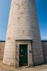 Ardnamurchan Point Lighthouse, The Egyptian style tower entrance