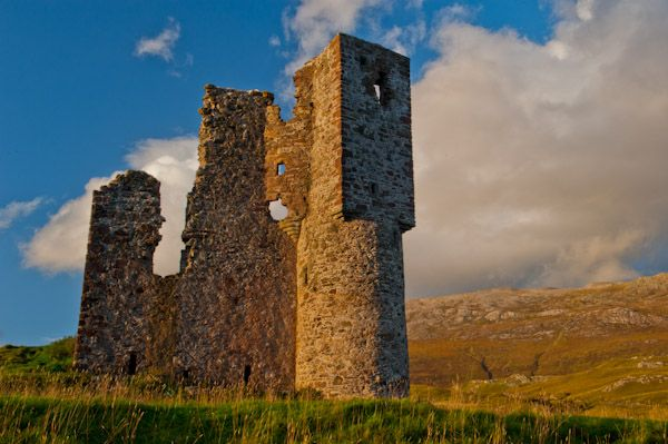 Ardvreck Castle photo, The tower house