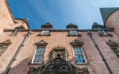 Argyll�s Lodging, The courtyard entrance facade