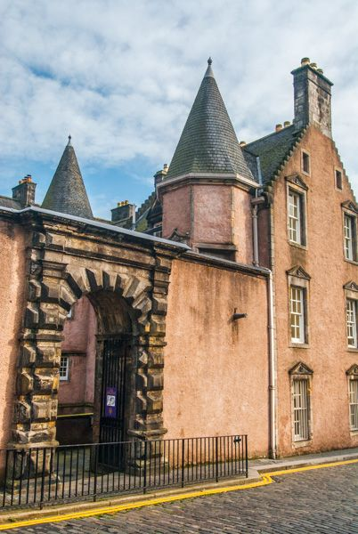 Argyll�s Lodging photo, The exterior gateway