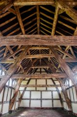 Arley Hall, The medieval barn