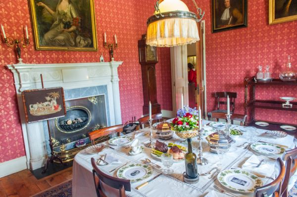 Arlington Court photo, The dining room
