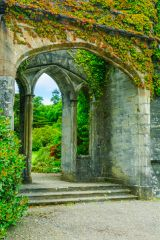 Armadale Castle Gardens and Museum of the Isles, Ruined archway in the castle