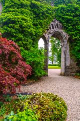 Armadale Castle Gardens and Museum of the Isles, The castle ruins stand amid beautiful gardens