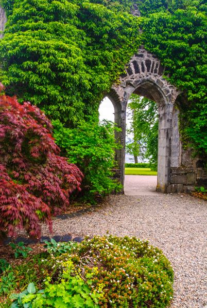 Armadale Castle Gardens and Museum of the Isles photo, The castle ruins stand amid beautiful gardens
