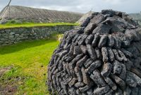 Peat drying