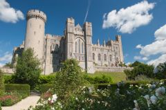 Arundel Castle, View from the garden