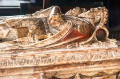 Earl of Huntingdon alabaster table tomb