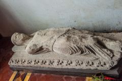 Atherington, St Mary's Church, Sir John Champernowne effigy, c. 1225