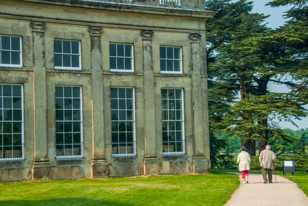 Attingham Park photo, Strolling past the house