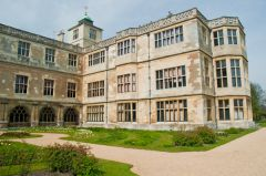 Audley End House, East front of the house