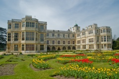 Formal parterre and east front
