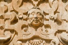 Audley End House, Carved detail on the west frontage