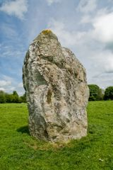 A large solitary stone