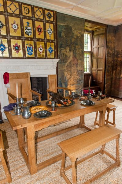 Avebury Manor and Garden photo, The Tudor hall