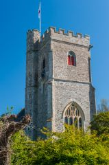 Axmouth, St Michael's Church, The 15th century west tower