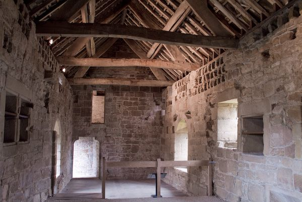 Aydon Castle photo, Kitchen