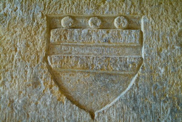 Aydon Castle photo, Coat of Arms