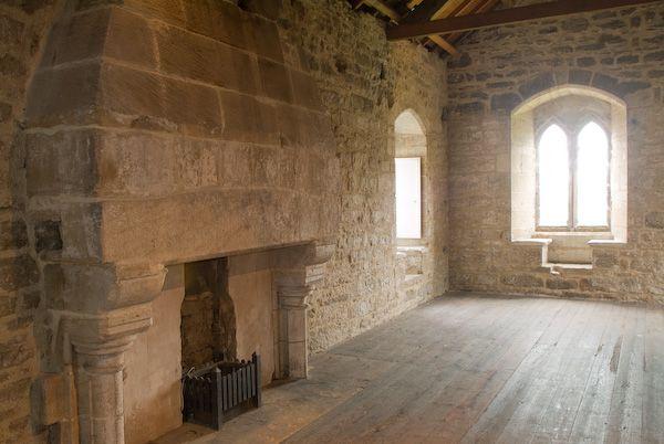 Aydon Castle Photo Fireplace