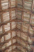 Bacton, St Mary's Church, Hammerbeam roof