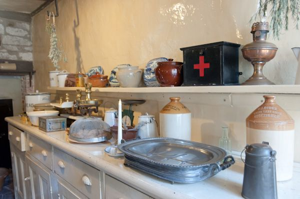 Baddesley Clinton photo, The kitchen