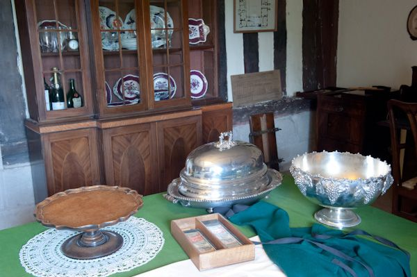 Baddesley Clinton photo, The Butler's Pantry