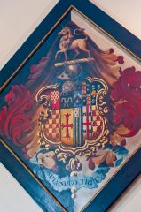 Baddesley Clinton, St Michael's Church, Funerary hatchment
