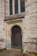 Baddesley Clinton, St Michael's Church, West door