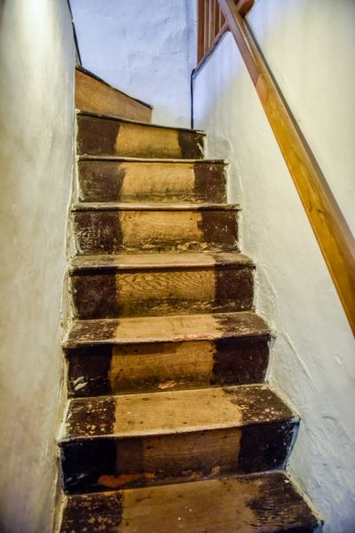 Old House Museum photo, Richard Arkwright's 1777 staircase
