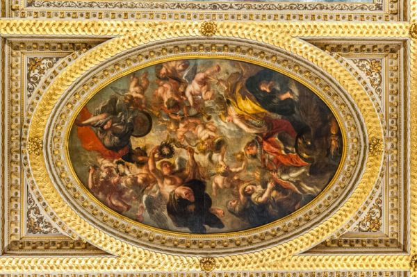 Banqueting House photo, The central painted panel