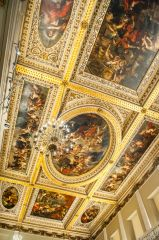 The painted ceiling, by Rubens