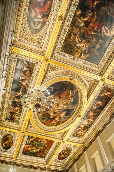 Banqueting House photo, The painted ceiling, by Rubens