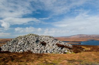 Barpa Langass Chambered Cairn
