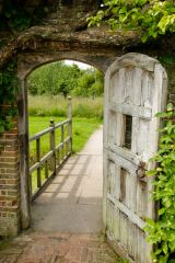 Barrington Court, An old medieval door