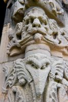 South porch carving
