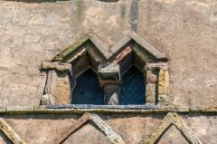 Saxon window, west tower