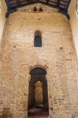 Internal Saxon tower arch